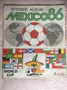 Panini Mexico 86 Sticker Album 100% Complete