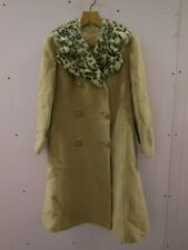 Vintage Dereta Wool Coat with Fur Collar