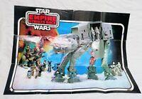 Original Faltprospekt STAR WARS The Empire Strikes Back von 1981 Kenner Fig.