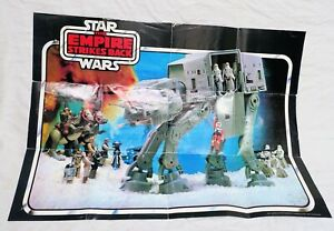 Original Faltprospekt STAR WARS The Empire Strikes Back von 1981 Kenner Fig.