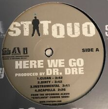 Stat Quo Here We Go Limited Edition 2007 Promo Vinyl LP Shady Records by Dr. DRE