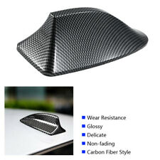 Universal Car Roof AM FM Radio Shark Fin Antenna Aerial Cover Carbon Fiber New