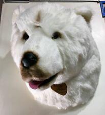 Large Polar Bear Head - Faux Taxidermy - Deco/Wall Hangings - Faux Animal Heads