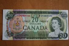 1969 Replacement Canada 20$ Bank of Canada banknote *EM serie F- VF