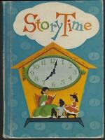 Story Time by Marjorie Pratt and Mary Meighen 1960 Vintage School Book Illus
