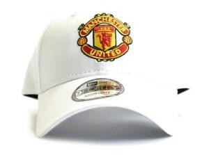 Manchester United FC  New Era 9Forty White Crest Cap