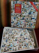 Eeboo Jigsaw Puzzle Curiosity Cabinet 1000 Pc w Poster Trading Cards Cig Packs