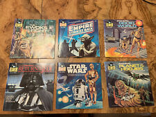 Star Wars Lot Of Vintage 33 1/3 Read Along Records