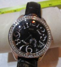 GUESS Women Black Dial Quiz Watch G76030L F35