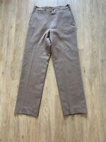 WW2 Rose Pink Wool Gabardine Trousers VINTAGE
