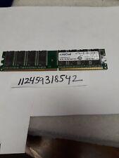 1GB DDR1 PC DDR1400 PC3200 400 400MHZ 184PIN 184 DIMM UNBUFFERED NON-ECC 64X8
