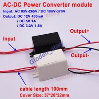 Mini AC-DC Converter AC110V 120V 220V 230V to DC 3.3V 5V 12V Power Supply Module