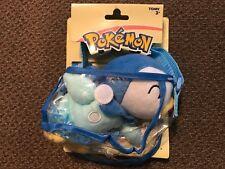 "PIPLUP w/ Carry Bag Purse Pokemon Takara Tomy 2018 Soft Plush Set ""NEW"""