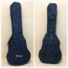 Caraya Waterproof Nylon Gig Bag for Acoustic Bass Guitar Black 3 Picks