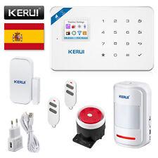 W18 WIFI GSM infrarrojos y detectores de humo sistema de voz española de alarma