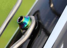 6x Titanium M5 x 12/14/16mm Bolt Button Head Allen Key Screw T25 Half-Round Head