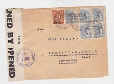 germany 1947 six stamps on examined cover to s.africa o431