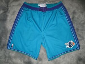 NBA Pro Cut team issued CHARLOTTE HORNETS Shorts Starter Made in USA