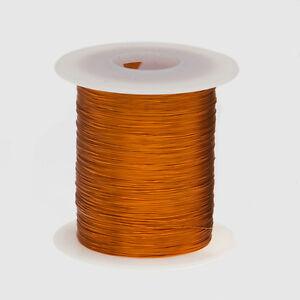 "22 AWG Gauge Enameled Copper Magnet Wire 8 oz 250' Length 0.0273"" 200C Natural"