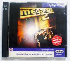 MINDSCAPE MEGARACE 2 - RARO DA COLLEZIONE - 2 CD ROM - Gioco per PC Originale