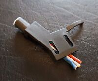 Straight Tonearm Headshell for Philips Onkyo Marantz Denon OFC Wires New!