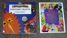2 Costume and Monster Craft books