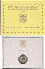 Vaticano. Cartera Oficial 2 Euros Año 2009./ Vatican. Official 2 Euro coin