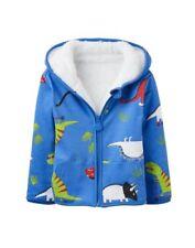 Abbigliamento blu cappuccio per bambini dai 2 ai 16 anni 100% Cotone