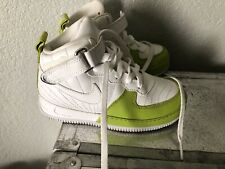 d20599a401f13 Nike Air Force 1 Mid White/ Lime Green Size 11c toddler RARE✨C👀