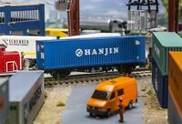 "FALLER 180842 CONTAINER 40' high cube ""Hanjin"" - scala 1/87"
