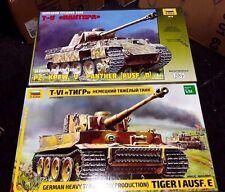 Zvezda German LEGENDS deal 3646 & 3678 (PANTHER AND TIGER) 1/35