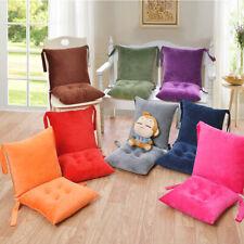High Back Chair Cushion Backrest Seat Pads Office Dining Garden Patio Mat Home