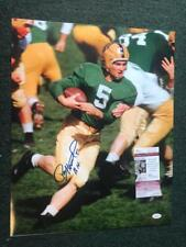 Paul Hornung 56 H Notre Dame Signed Autographed 16X20 Photo Jsa G37187