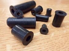 25 No M5 x 15 mm, gomma Nuts, Dadi, matrice Fissaggi, resistente alle vibrazioni.