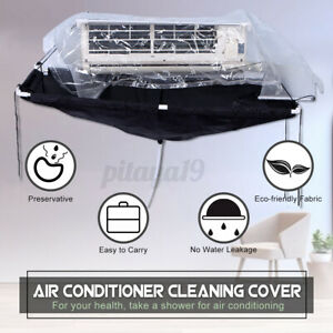 Air Conditioner Cleaning Bag Wash Cover Waterproof Wall Mounted Protector Kit