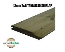 T&G Pressure Treated Shiplap Cladding Ex 125mm x 16mm