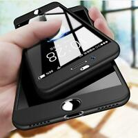 Samsung Galaxy S8 S9 Plus S6 S7 Edge Hülle 360 Cover Schutzhülle Handyhülle Case
