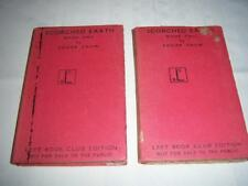 Scorched Earth, Books 1 & 2 , Edgar Snow Left Book Club Edition Vintage 1941