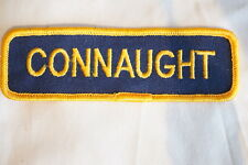 Canadian Connaught Fire Department Patch Gold