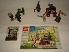 Lego Castle- Kingdoms Sets #7950/7955 - Knights Showdown / Wizard- 100% Complete