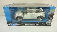 Welly 1:24 24021W Land Rover Range Rover Evoque weiß in OVP (A56)
