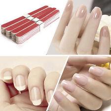 10x Pulidor lima de uñas Herramienta de Manicura y Pedicura del Hogar nuevo