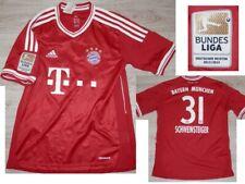 2013-14 Bayern Munich Schweinsteiger #31 Shirt Football German Club Jersey - MB