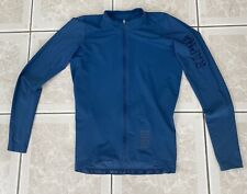 RAPHA PRO TEAM L/S AERO JERSEY. ROYAL BLUE- size medium