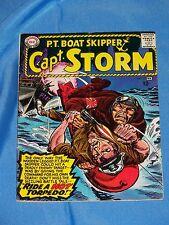 P.T. BOAT SKIPPER CAPT. STORM # 11, Feb. 1966, FINE PLUS CONDITION