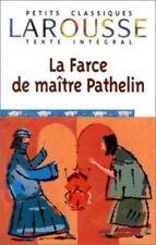 La Farce De Maistre Pathelin (Petits Classiques Larousse Texte-ExLibrary