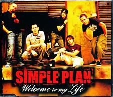 SIMPLE PLAN WELCOME TO MY LIFE 3 TRACK AUSTRALIAN PRESSING CD - EXCELLENT - VGC