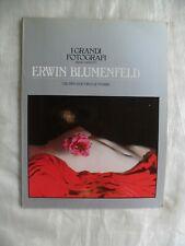 I grandi fotografi serie argento ERWIN BLUMENFELD Fabbri editori