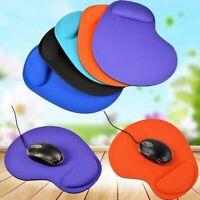Comfort Wrist Mouse Pad Mat Optical Trackball Mousepad for Optical Mouse
