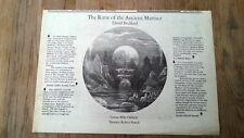 DAVID BEDFORD / Mike Oldfield Rime of Ancient Mariner Press ADVERT 12x8 inches